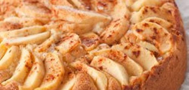 طريقة عمل الكيك بالتفاح