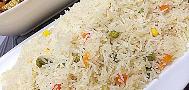 طريقة عمل أرز أبيض سادة
