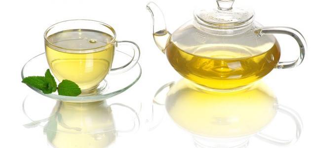 فوائد الزنجبيل والشاي الأخضر