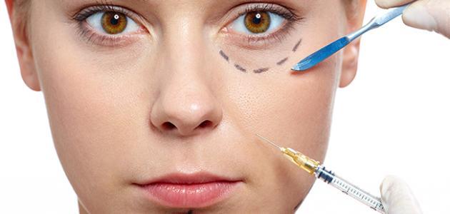 أضرار حقن الدهون في الوجه