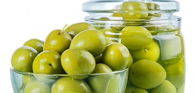 طريقة تمليح الزيتون الأخضر