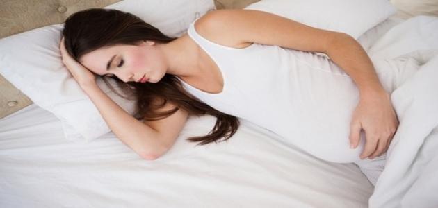 قلة النوم للحامل