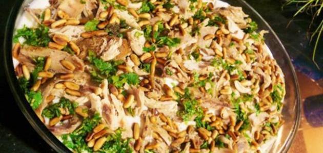 طريقة عمل فتة الدجاج السورية