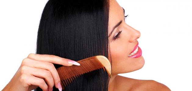 طريقة فرد الشعر في البيت