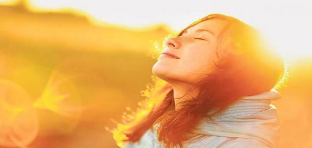 فوائد الشمس للبشرة
