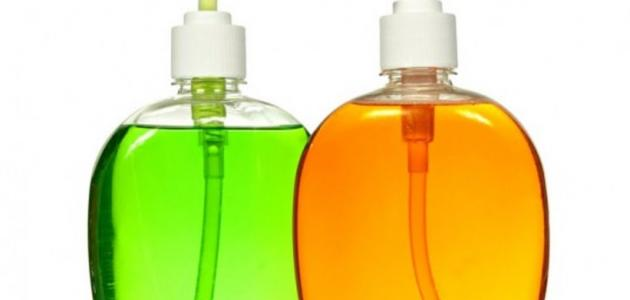 صناعة الصابون السائل في المنزل