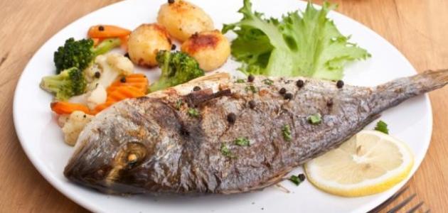تحضير طبق سمك