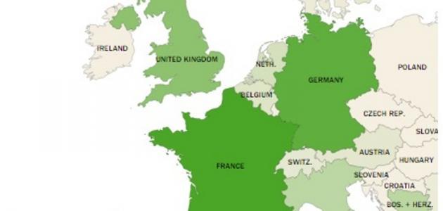 عدد المسلمين في أوروبا