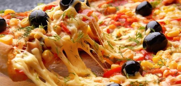 طرق صنع البيتزا