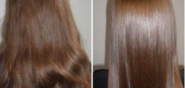 أفضل طريقة لفرد الشعر المجعد