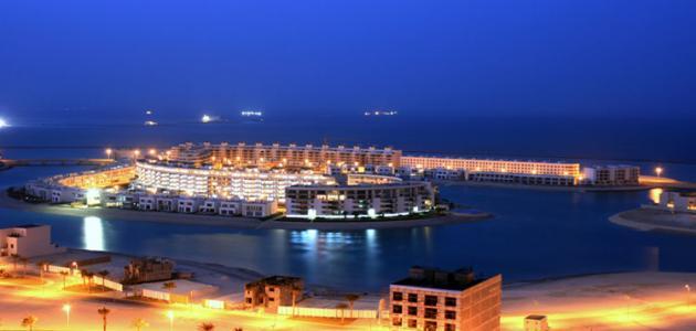 جزيرة أمواج في البحرين