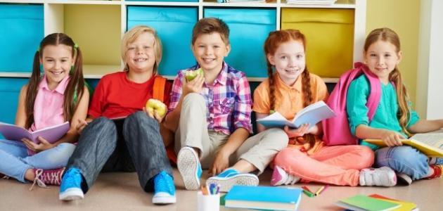 خصائص النمو للمرحلة الابتدائية