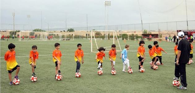نادي كرة قدم للاطفال في الرياض
