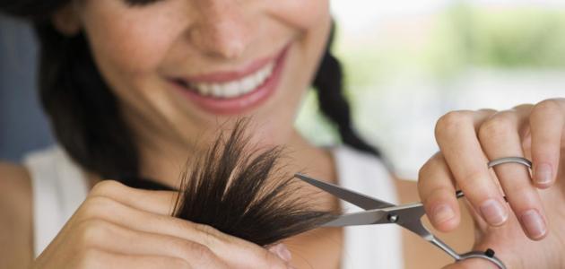 كيفية قص الشعر بنفسك