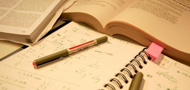 طريقة مذاكرة الرياضيات