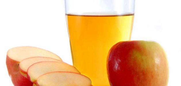 أضرار خل التفاح للوجه