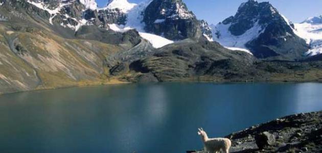 أكبر بحيرة في أمريكا الجنوبية