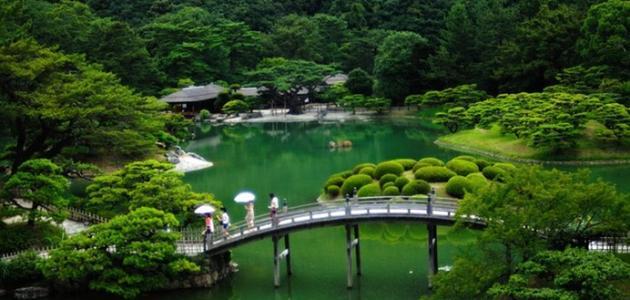 الطبيعة في اليابان