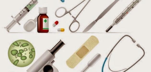 الأدوات التي يستعملها الطبيب