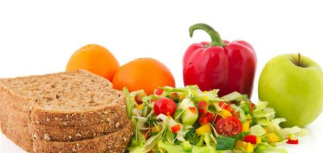 جدول نظام غذائي لإنقاص الوزن