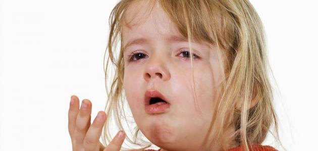 علاج السعال والبلغم عند الأطفال