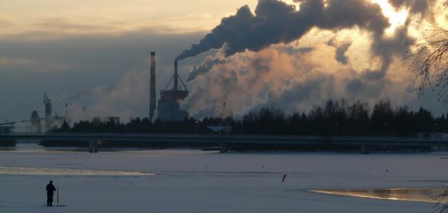 أضرار دخان المصانع