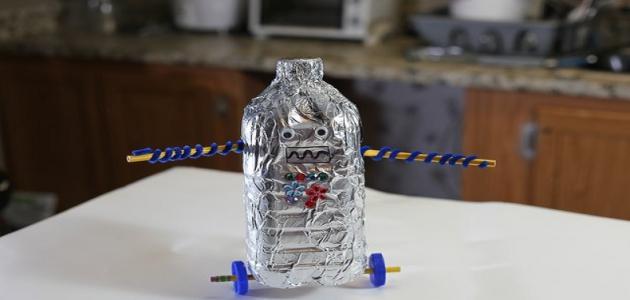 كيفية صنع روبوت