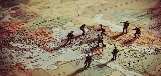 قضايا الصراع الدولي بعد الحرب الباردة / زيد خالد صالح