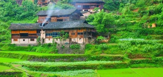 الطبيعة في الصين