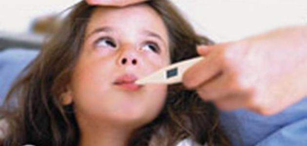 انخفاض درجة الحرارة عند الأطفال
