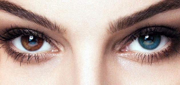 طريقة تغيير لون العين