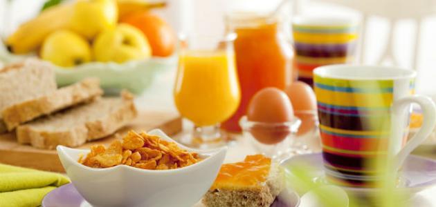 أفضل وجبة للإفطار