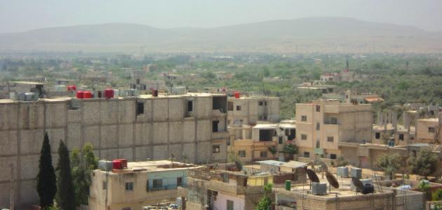 المظاهر العمرانية في القرية والمدينة
