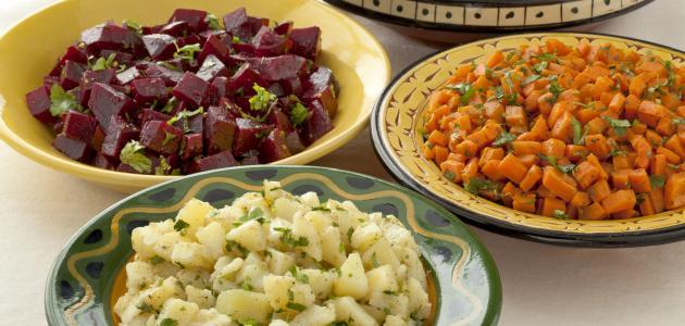 أكلة مغربية خفيفة ولذيذة