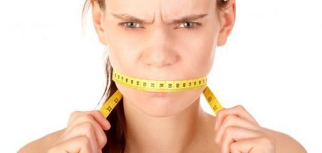 أسباب فقدان الشهية ونقص الوزن