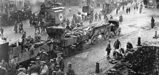 أسباب الحرب العالمية الأولى والثانية - موضوع