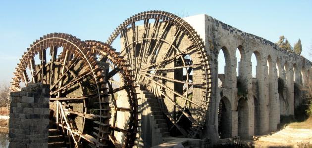 آثار قديمة في سوريا