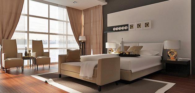طريقة ترتيب غرف النوم   موضوع