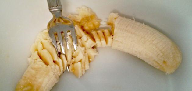 خلطة الموز للشعر