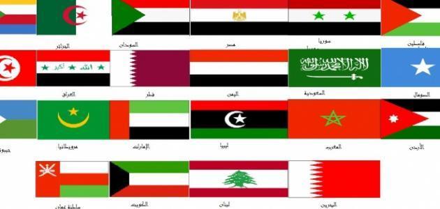 كم عدد الدول العربية في قارة آسيا
