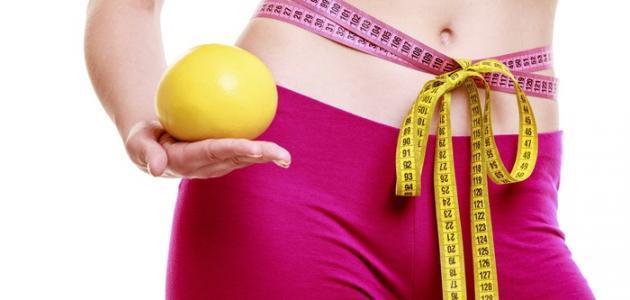 كيفية إنقاص الوزن بسرعة بدون رجيم