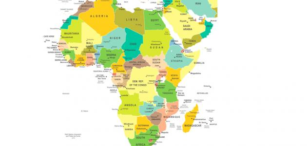 عدد الدول في قارة أفريقيا