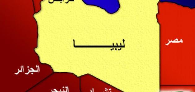 مساحة ليبيا وعدد سكانها