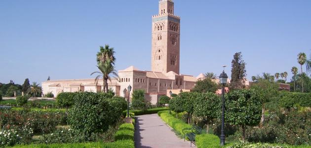 مساحة المغرب وعدد سكانها