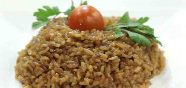 عمل أرز السمك