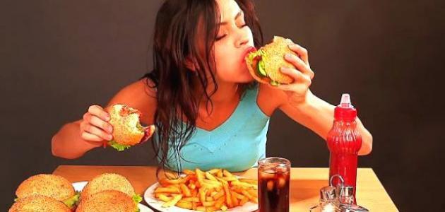أضرار الأكل السريع