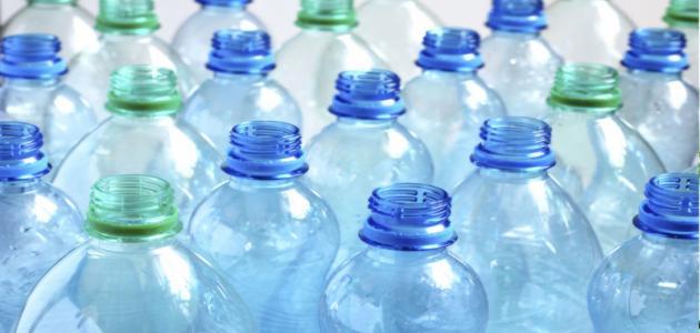 استخدام الزجاجات البلاستيك الفارغة