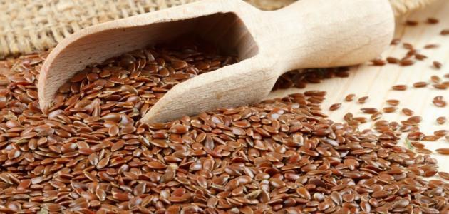طريقة استخدام بذر الكتان