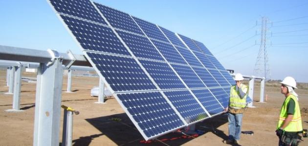استغلال الطاقة الشمسية