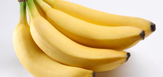 طريقة تخزين الموز